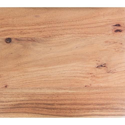 Manzanita Natural Acacia Bench with Different Bases, VCA-BN60N