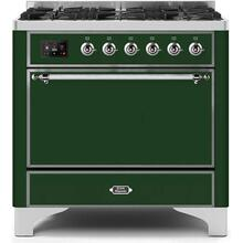 "36"" Inch Emerald Green Natural Gas Freestanding Range"