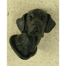 Labrador Knob in Black Matte