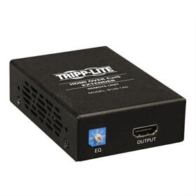 HDMI over Cat5/6 Extender, Box-Style Remote Receiver for Video/Audio, Up to 150 ft., TAA