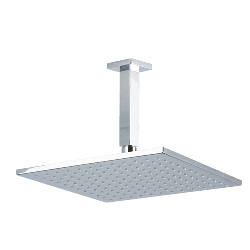 "10"" Shower Rainhead Ceiling Mount 4.75"" Arm"