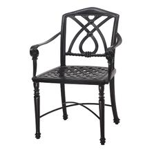 View Product - Terrace Cushion Café Chair with Arms - KD