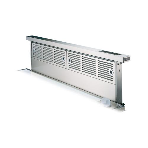 """Viking - Stainless Steel 30"""" Wide Rear Downdraft with Controls on Intake Top - VIPR (30"""" width)"""
