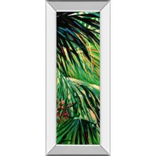 """Just Fronds"" By Suzanne Wilkins Mirror Framed Print Wall Art"