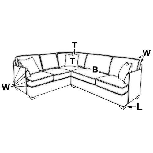 240 SECTIONAL PIECES