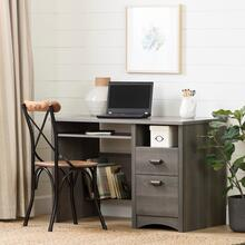 Gascony - Desk, Gray Maple