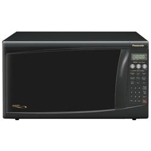 Microwave Oven with 1300 Watt High Power, Black