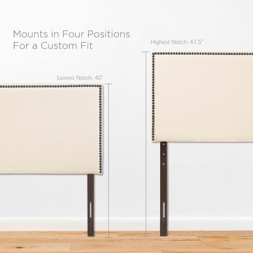 Modway - Region Nailhead Full Upholstered Headboard in Ivory