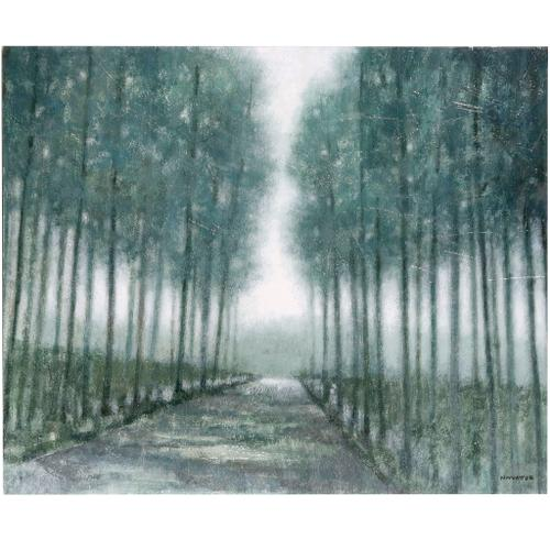 Style Craft - MY PATH HOME  30in w X 24in ht  Textured Framed Print  Made in USA