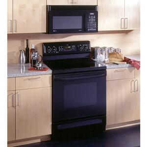 "GE Profile Spectra 30"" Free-Standing QuickClean Electric Range"