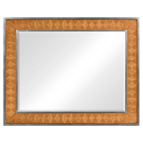 Satinwood Argyle Mirror
