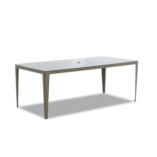 """Klaussner Outdoor - Urban Retreat Rect Dining Table 79"""""""