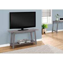 """See Details - TV STAND - 42""""L / GREY"""