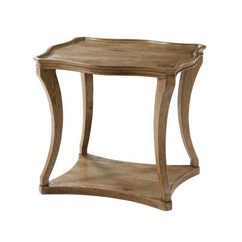 Ennis Serpentine Side Table