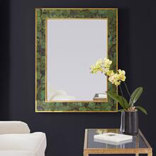 Brice Rectangle Mirror-Emerald Penshell