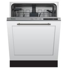 "24"" ADA height dishwasher 5 cycle top control fully integrated panel overlay 48 dBA"