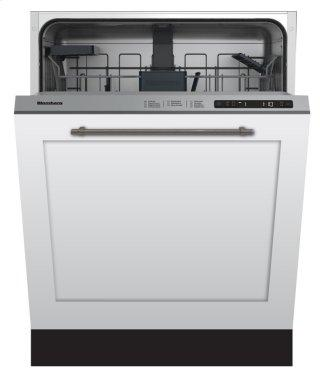 Standard height dishwasher 5 cycle top control fully integrated panel overlay 48 dBA