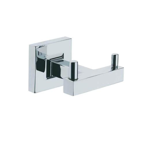 Diora Double Robe Hook Chrome