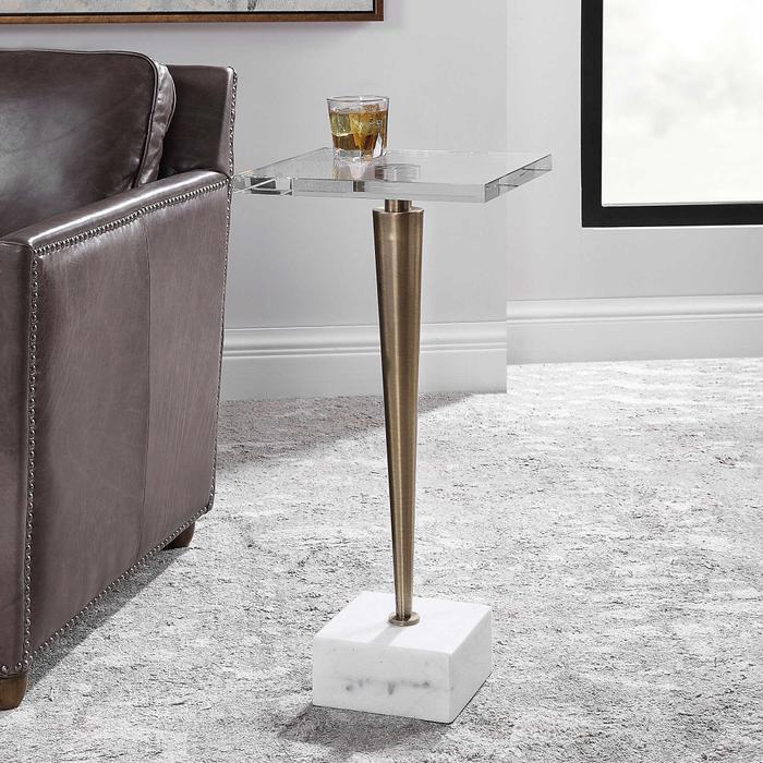 Uttermost - Campeiro Drink Table, Brass
