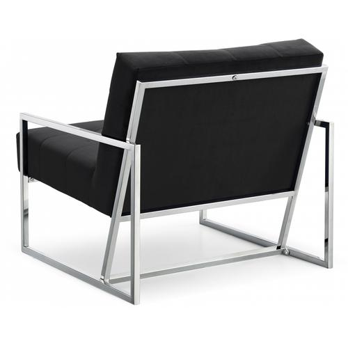 """Alexis Velvet Accent Chair - 32"""" W x 28"""" D x 27.5"""" H"""
