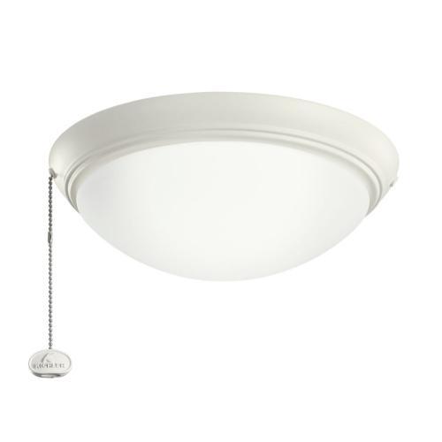 """LED Low-Profile 11.5"""" Light Kit Satin Natural White"""