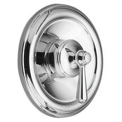 Traditional chrome replacement handle knob insert