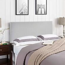 View Product - Region Full Upholstered Fabric Headboard in Sky Gray