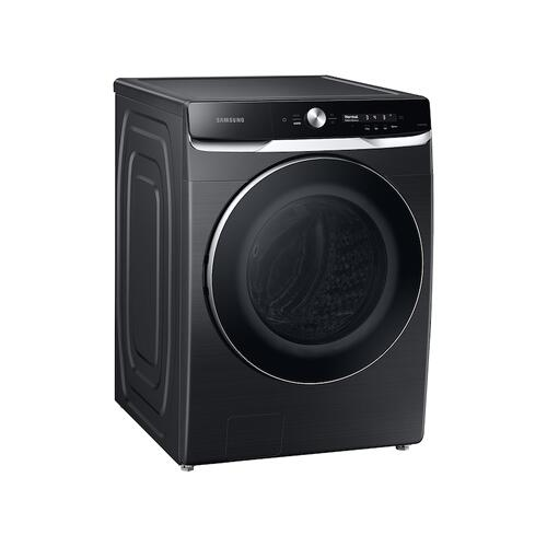 5.0 cu. ft. Extra-Large Capacity Smart Dial Front Load Washer with OptiWash™ in Brushed Black