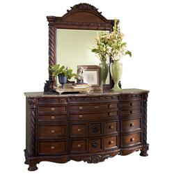 North Shore Dresser and Mirror