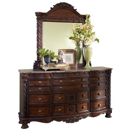 See Details - North Shore Dresser and Mirror