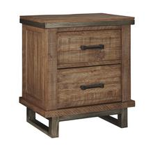 Timber and Tanning Two Drawer Night Stand