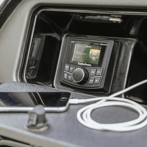 """Rockford Fosgate - Punch Marine Compact AM/FM/WB Digital Media Receiver 2.7"""" Display"""