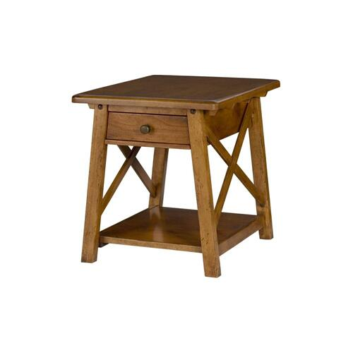 Drawer End Table-Import