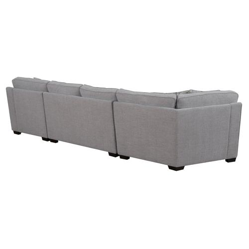 Analiese Rsf Chaise Sectional, Linen Gray U4315-29-16-30-13a-k