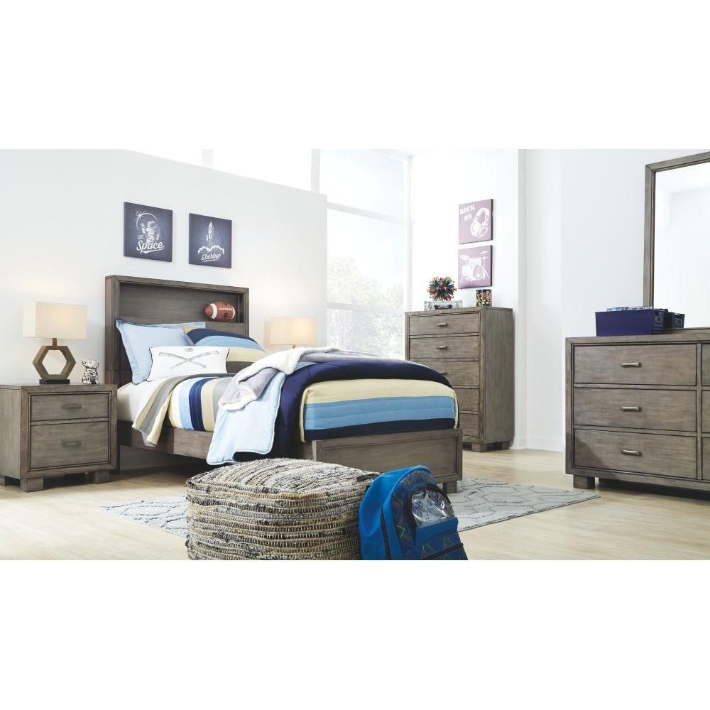 Arnett Full Bookcase Bed