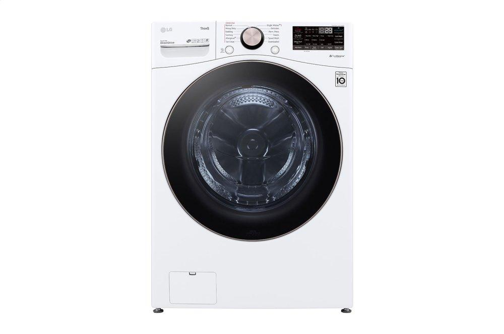 4.5 cu. ft. Ultra Large Capacity Smart wi-fi Enabled Front Load Washer with TurboWash™ 360(degree) and Built-In Intelligence Photo #3
