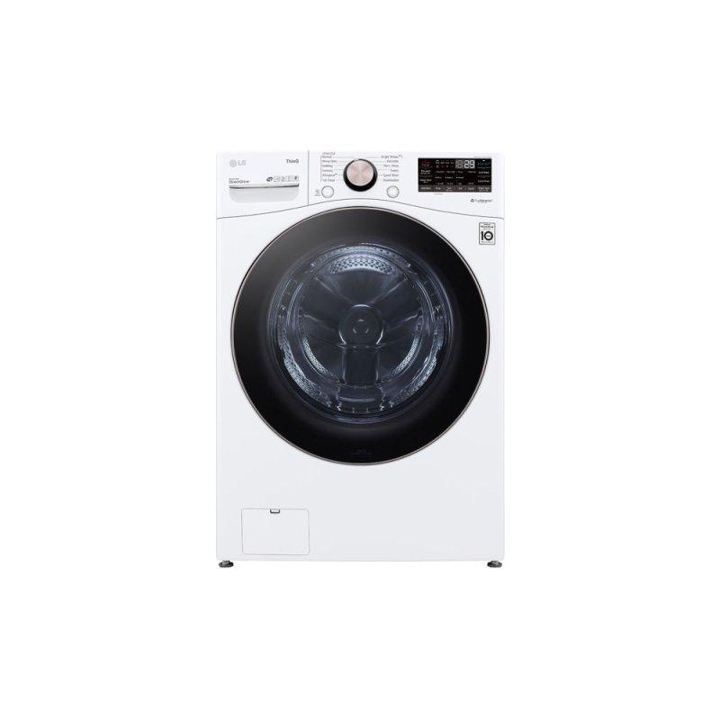 4.5 cu. ft. Ultra Large Capacity Smart wi-fi Enabled Front Load Washer with TurboWash™ 360(degree) and Built-In Intelligence
