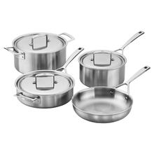 ZWILLING Aurora Stainless Steel 7-Piece Cookware Set