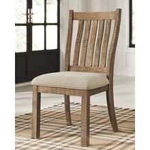 Grindleburg Dining Chair White/Light Brown