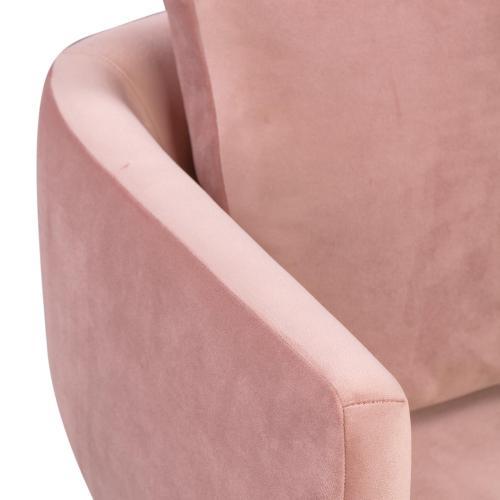 Alto Blush Velvet Dining Chair