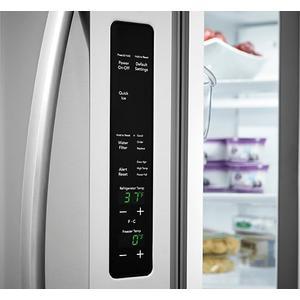 Frigidaire - Frigidaire 22.4 Cu. Ft. French Door Counter-Depth Refrigerator