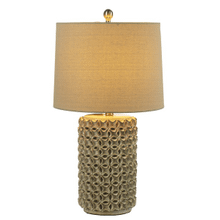 Ivory Hand Molded Texture Table Lamp. 100W Max. 3 Way Switch. (CB173200) (4 pc. assortment)