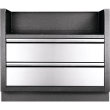OASIS Under Grill Cabinet for BIG38 for Built-in 700 Series 38 , Grey