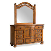 Barkley Square Dresser & Mirror Set