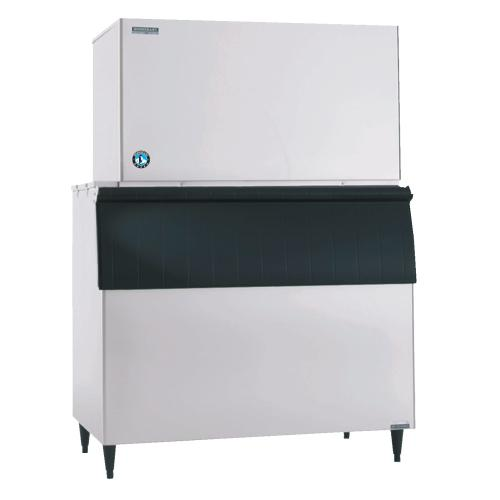 KM-1301SWJ, Crescent Cuber Icemaker, Water-cooled