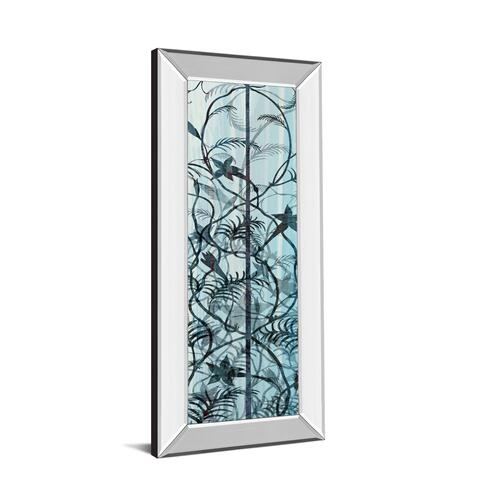 """Climbers Il"" By James Burghardt Mirror Framed Print Wall Art"
