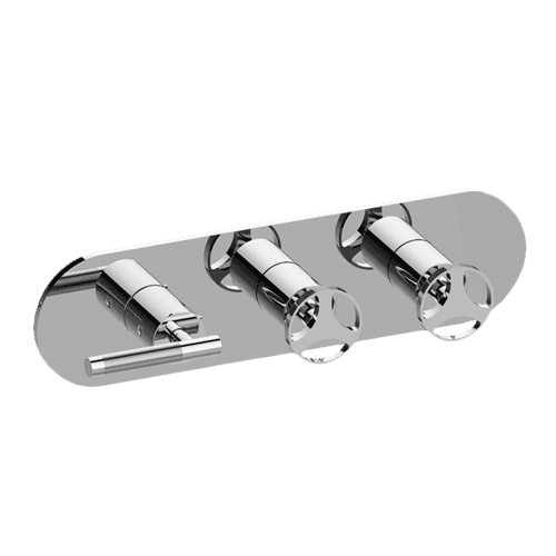 M-Series Valve Trim with Three Handles - Trim only