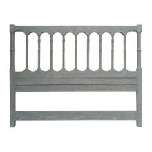 Island Spindle King Headboard - Rw