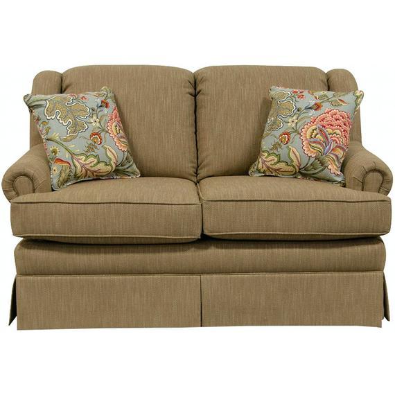 England Furniture - 4000-88 Rochelle Loveseat Glider