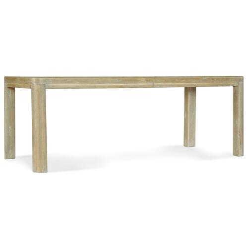 Surfrider Rectangle Dining Table w/1-18in leaf